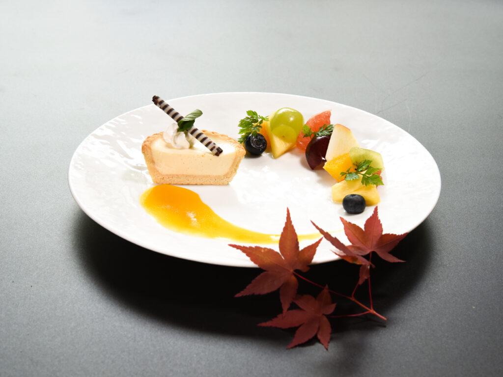 箱根豆乳タルト