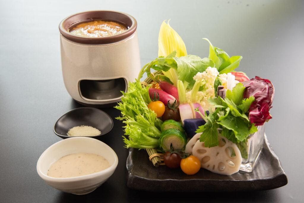 春の彩り高原野菜
