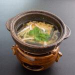 春野菜と白魚の玉〆