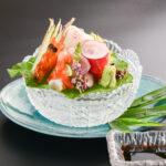 鮮魚造り 山葵葉盛り
