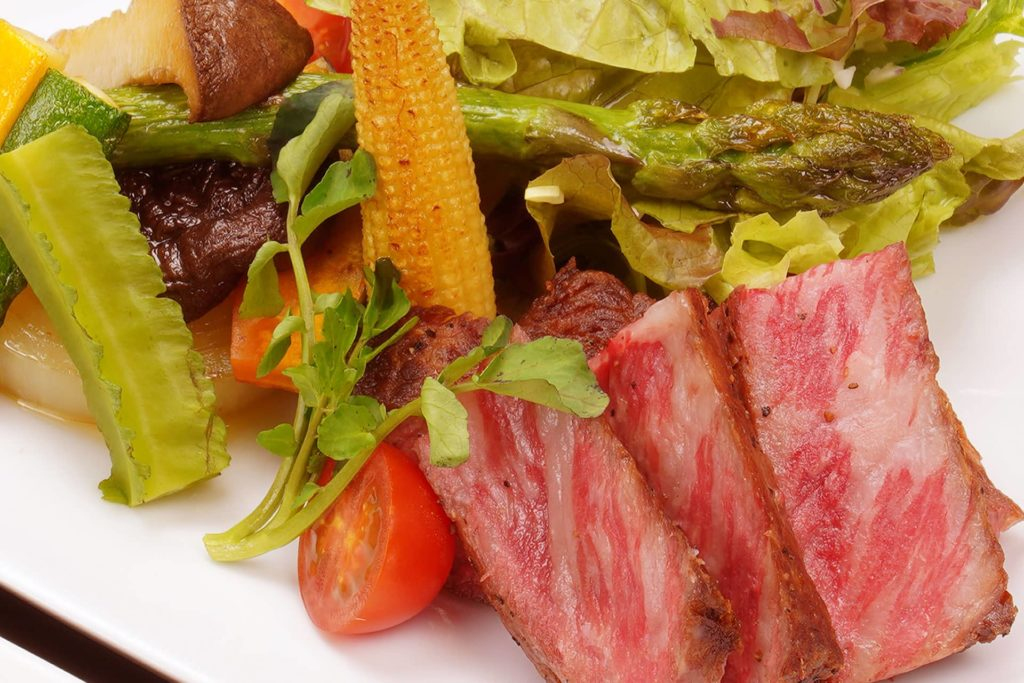 グレードアップ黒毛和牛ステーキ
